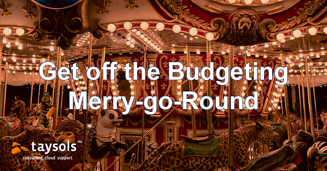 How to get off the budgeting Merry-Go-Round