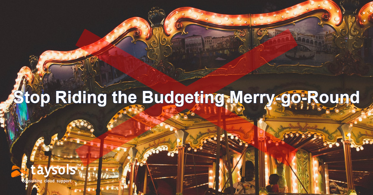 How to prevent budgeting Merry-Go-Round