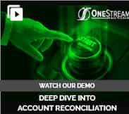 OneStream Account Reconciliation