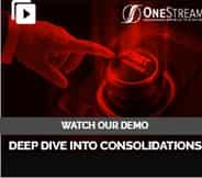 OneStream Consolidations Webinar