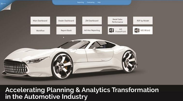 taysols_board_accelerating planning and analytics transformation in the automotive industry