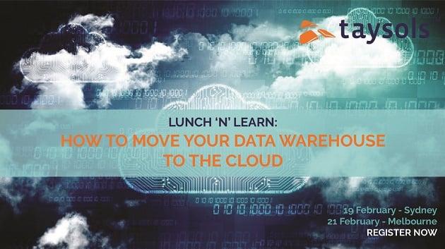 Taysols_Datawarehousing Cloud_luncheon_February
