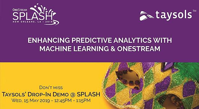 Enhancing Predictive Analytics with Machine Learning & OneStream