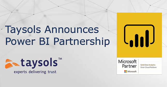 Taysols announces Microsoft Power BI Partnership
