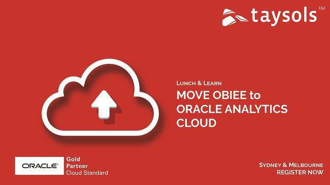 OBIEE to Oracle Analytics Cloud