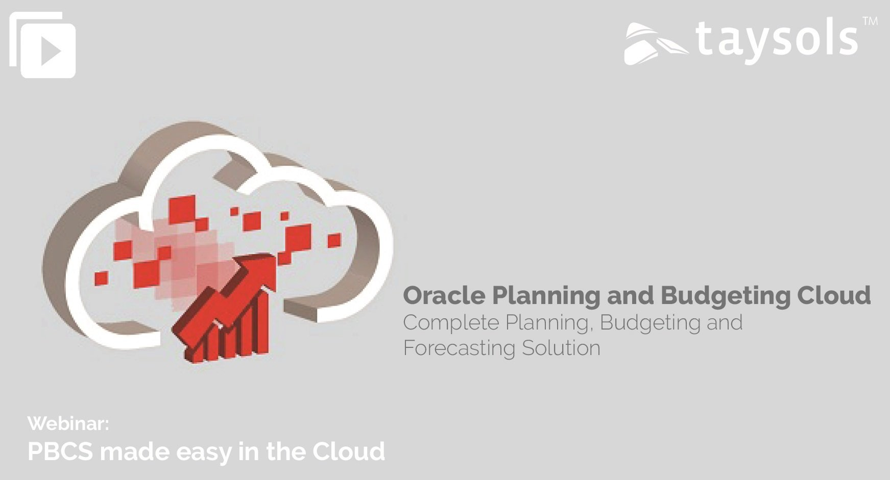 Budgeting and Planning made easy in the Cloud